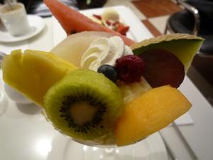 パフェたかのフルーツ
