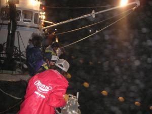 秋鮭漁 3