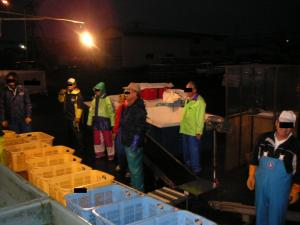 秋鮭漁 14