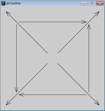 arrowline()動作イメージ