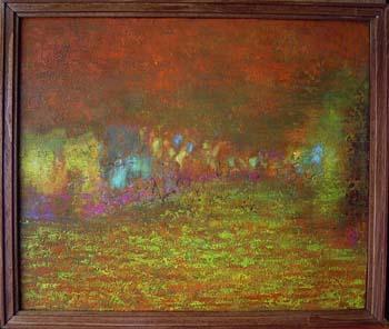 【2004年個展】金色の雨を渡る2