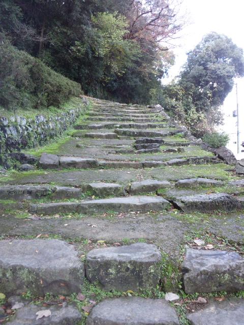 宇和島城石段