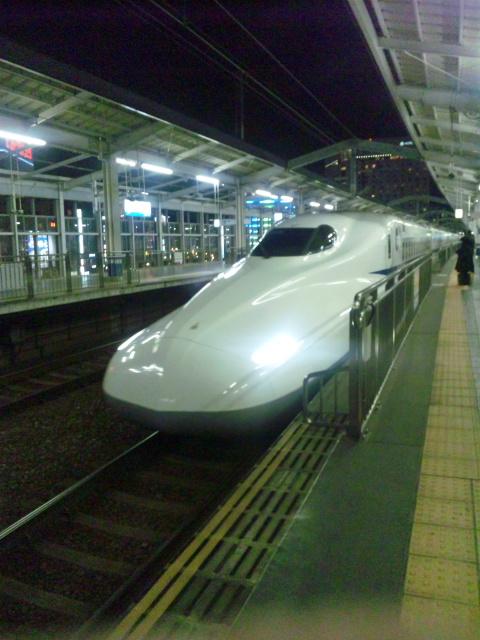 岡山駅のぞみ