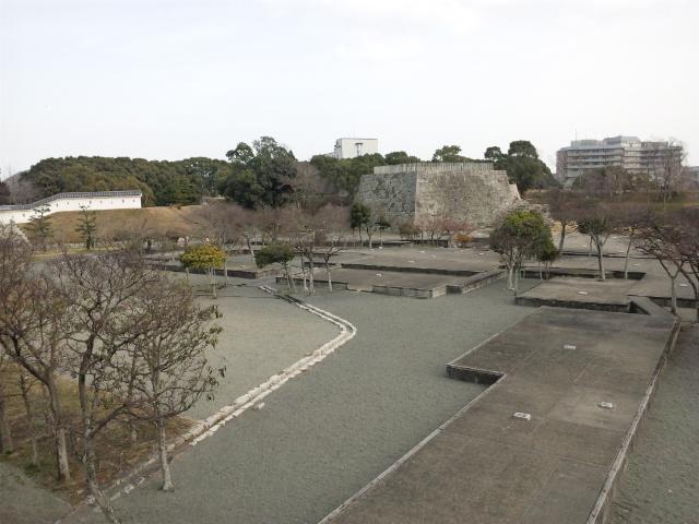 本丸門からの風景