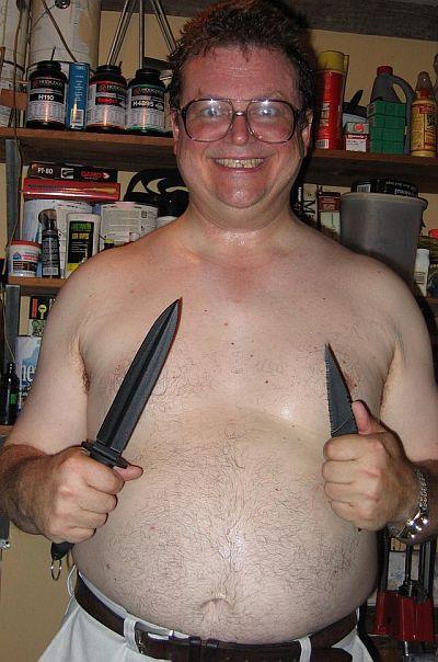 ナイフ使い