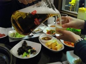 青島夕食1