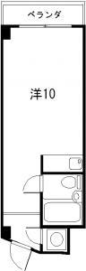 シャンポール横川 504