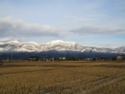 金北山の写真(2011年1月1日)
