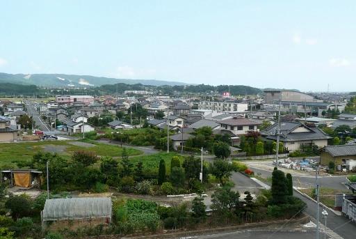 太田落雁からの眺望