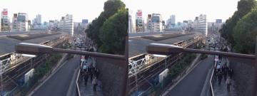 上野から御徒町方面