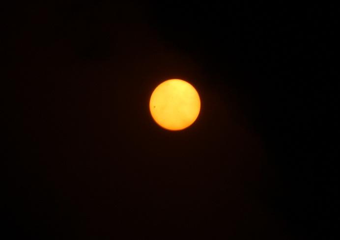 太陽面金星通過1