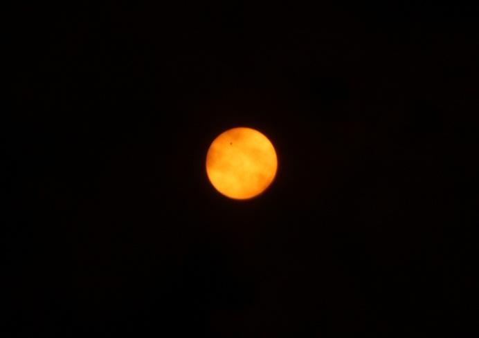太陽面金星通過3