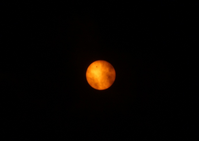 太陽面金星通過4