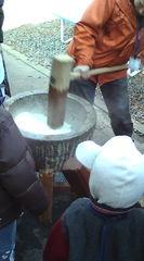 2010年 1月16日 愛知青年の家 餅つきイベント6