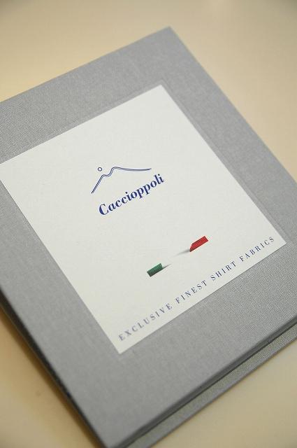 Caccioppoli(カチョッポリ) オーダースーツ名古屋