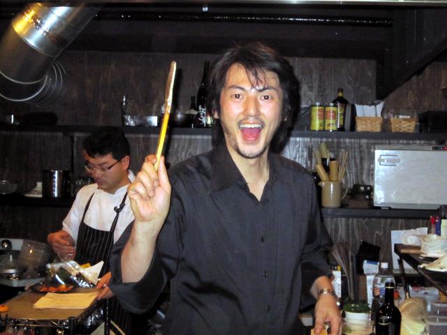 笠井シェフ