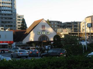 関東の駅百選にも選ばれていた国立駅旧駅舎。高架化に伴い解体された。