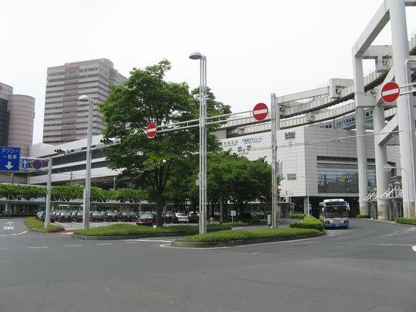 東口駅前ロータリーから見た千葉駅