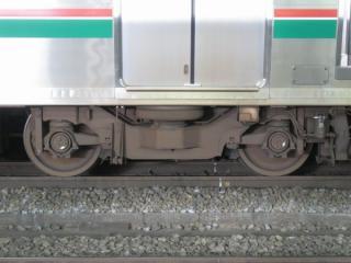 E721系の台車。