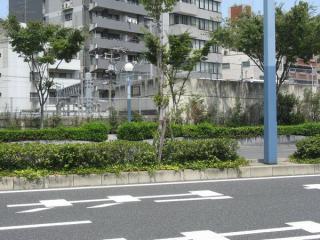 阪神本線のトンネルポータル。