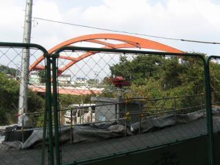 稲毛海浜公園から約13km地点の弁天橋