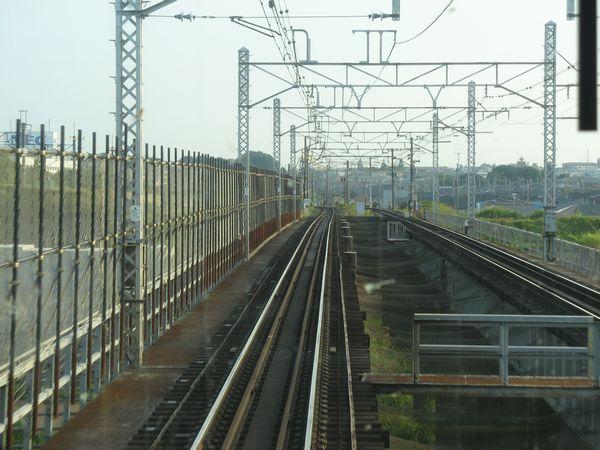 トラス橋部分(上野側)