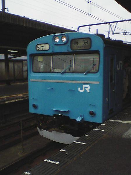 京葉線の103系。