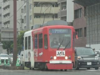 鹿児島市電9500形(9506号車)