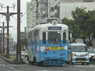 鹿児島市電500形(501号車)