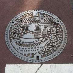 西宮市のマンホール3種(絵柄)
