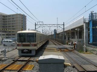 新鎌ヶ谷駅ホームの松戸寄り
