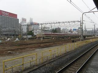 品川駅10番線の撤去で行き止まりとなった田町車両センターの留置線