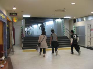 旧大丸東京店地下の通路