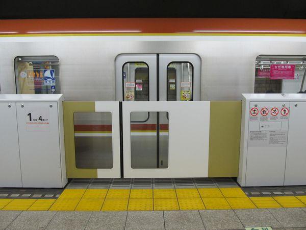 要町駅の有楽町線ホームドア
