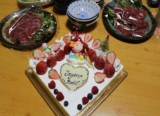 Xクリスマスケーキ