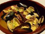 ムール貝とあさりの白ワイン蒸し