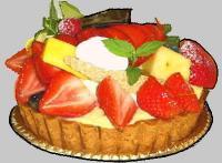 季節の果物タルト