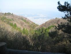 山頂からの眺め!