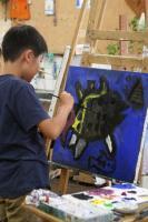 2011 7月29日 はじめての油絵教室 009_R