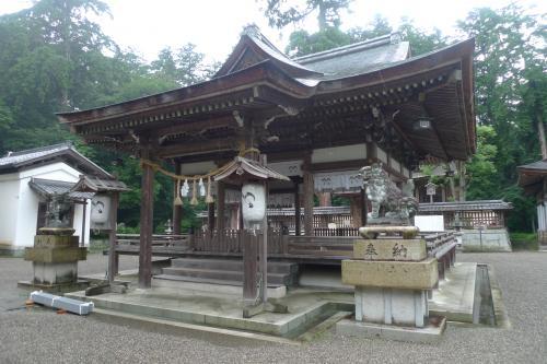奥石神社①