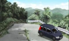 山上 道路