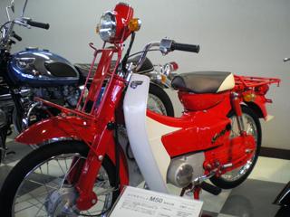 郵政バイク