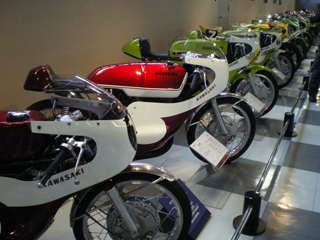 レトロなレーシングバイク