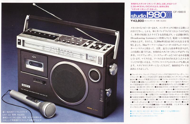 ソニースタジオ1980-Ⅱ