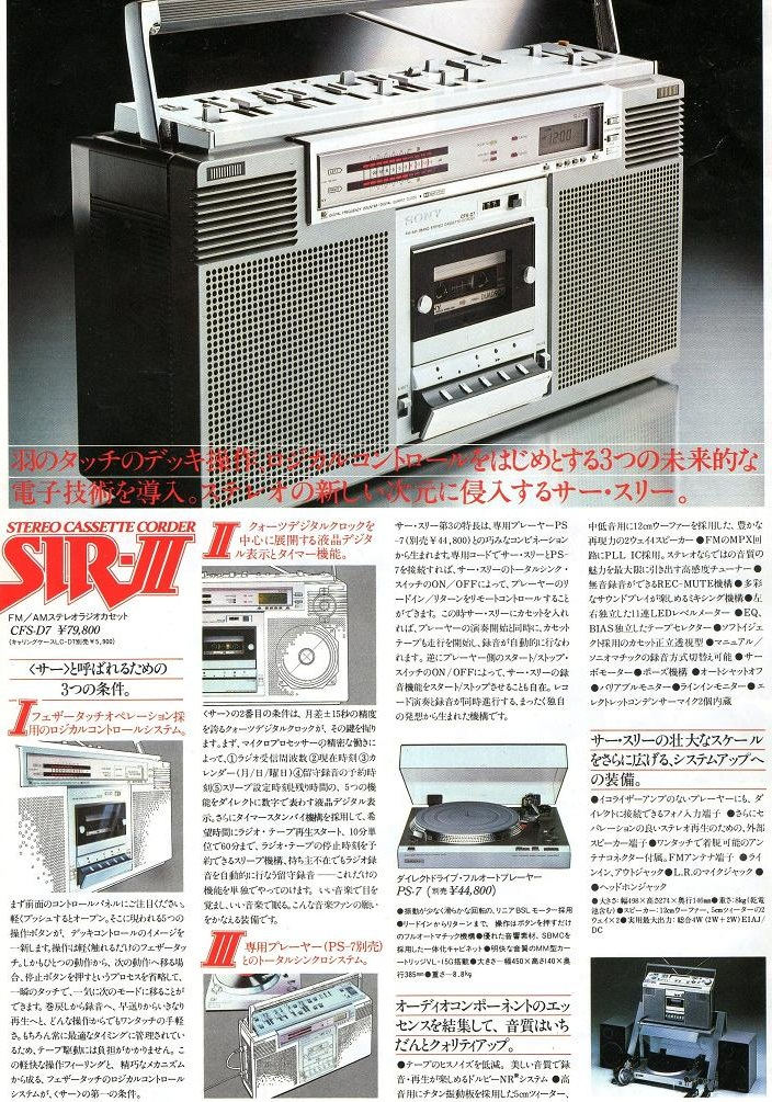 ソニーsir-Ⅲ
