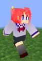 minecraft スキン オリジナル 女の子 セーラー服 冬服