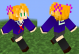 minecraft スキン オリジナル 女の子 セーラー服