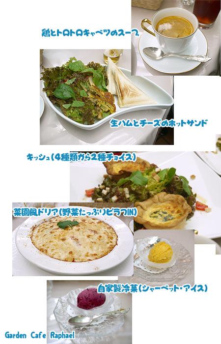 2009/10/10 Garden Cafe Raphael 5