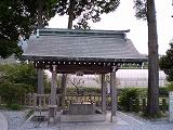 西寒多神社(手水舎)