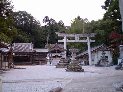 西寒多神社(境内)